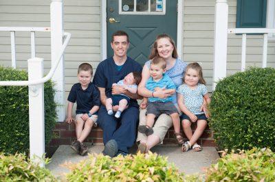 Dr. Jeffry Burke, DMD &  Family